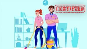 janitorial field and training
