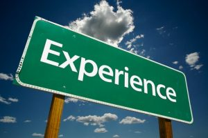 How much experience do you have