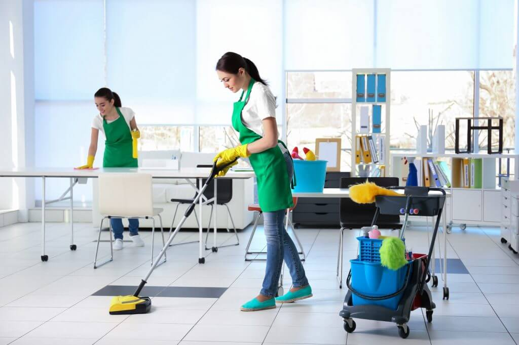 Janitorial cleaning company