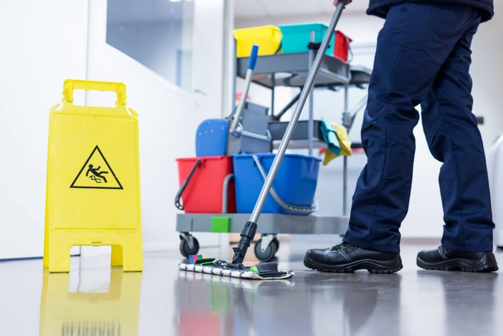 Industrial facility janitorial service